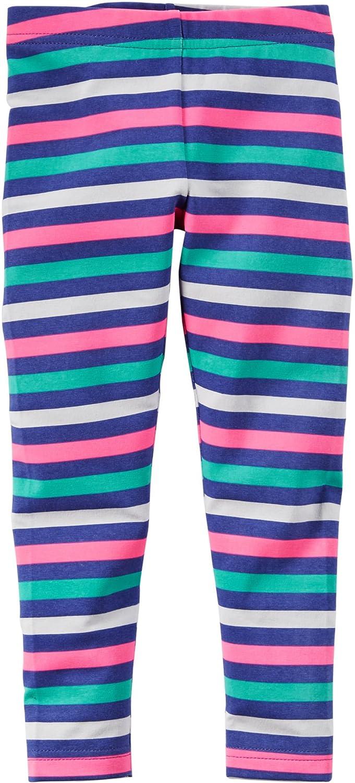 81bb00b300010 Amazon.com: Carters Baby Girls Bright Stripe Leggings 24 Month Multi:  Clothing