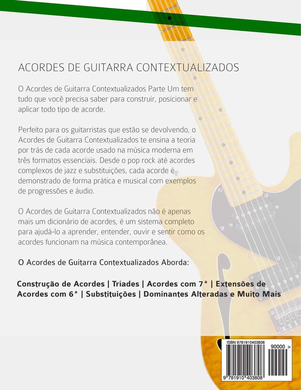 Acordes de Guitarra Contextualizados: Edição em Português: Amazon ...