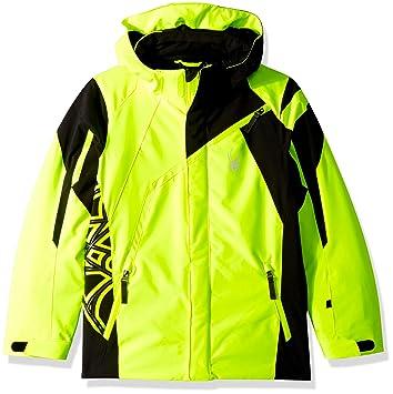 Spyder Challenger Kinder Ski Jacke gelb: : Sport