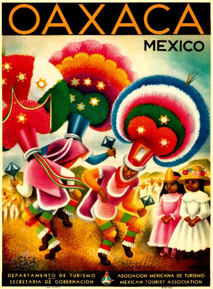 【最安値挑戦】 オアハカヴィンテージポスター(アーティスト:ミゲルコバルビアス)メキシコC。1941 Art 9 x 12 Art Print LANT-65997-9x12 18 B017Z748NK Art 12 x 18 Art Print 12 x 18 Art Print, いい肌発信!美サイエンス:dca29875 --- granjalailusion.com.ar