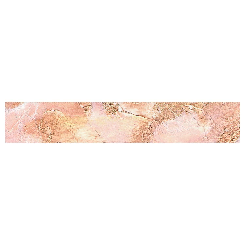 16 x 180 KESS InHouse Rosie Brown Bronze It Orange Paint Table Runner