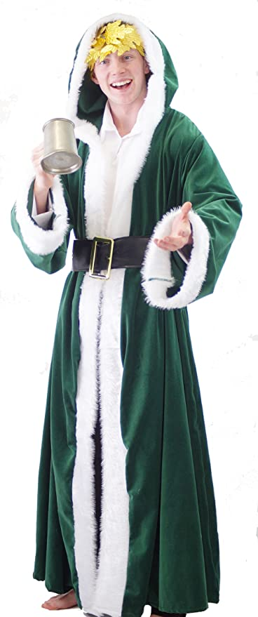 Steampunk Clothing- Men's Dickens-A Christmas Carol-Scrooge- DELUXE GHOST OF CHRISTMAS PAST Adults Fancy Dress Costume - All Mens Sizes $88.99 AT vintagedancer.com