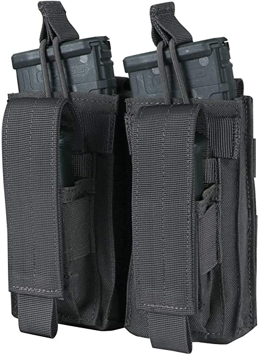 Tactical Modular MOLLE PALS 5.56//.223 Double Rifle Magazine Pouch