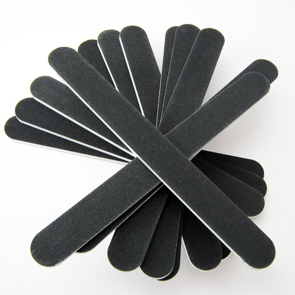 Amazon.com : JOVANA Nail File Black Salon Board Drum (Pack of 48 ...