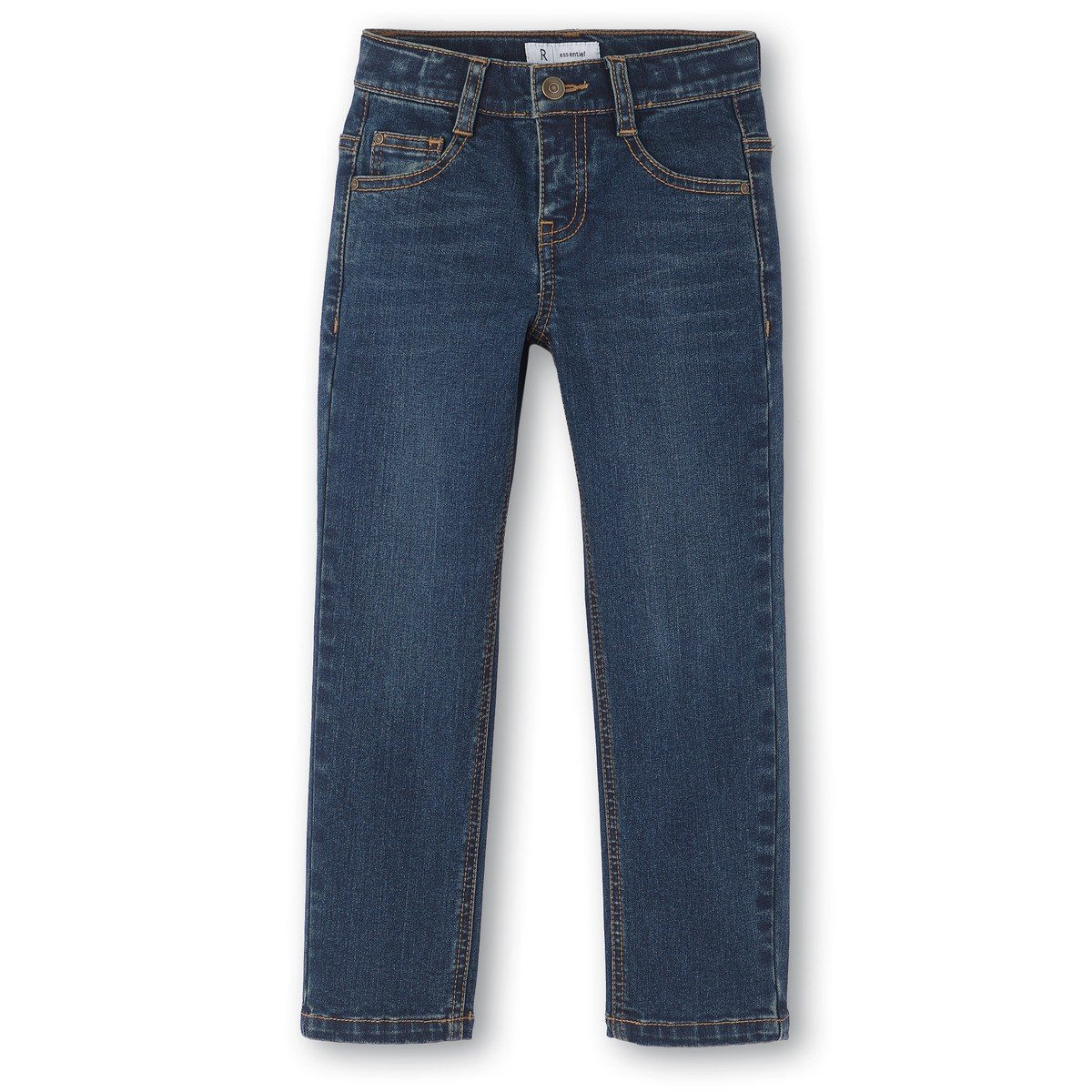 10-16 Years La Redoute Collections Big Boys Straight Jeans