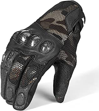 Carbon Fiber Pro-Biker Bike Motorcycle Motorbike Racing Gloves sikiwind Motorcycle Gloves