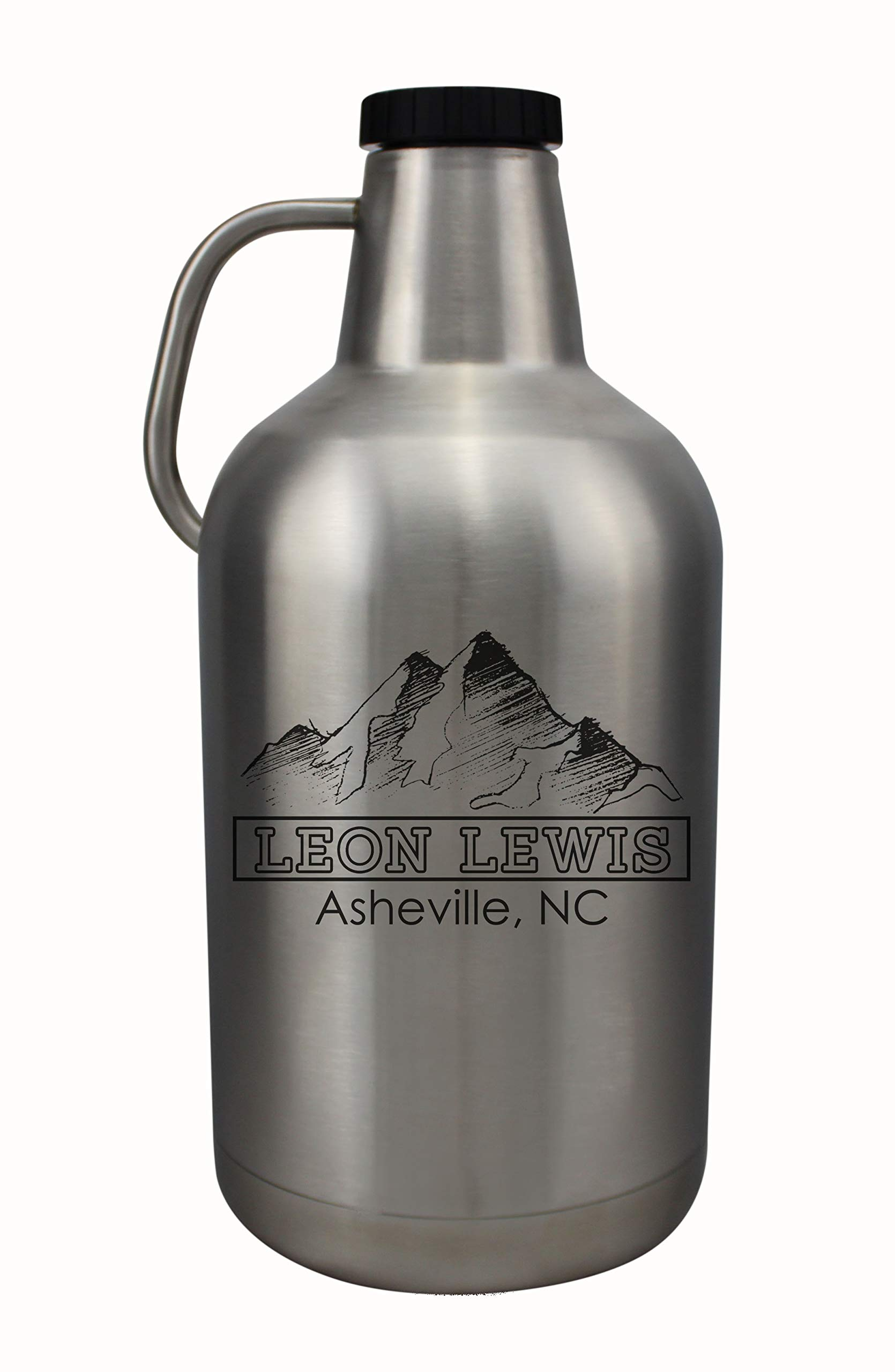 Personalized Etched 128oz Stainless Insulated Growler