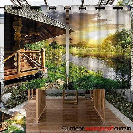 Amazon.com: Sunnyhome - Cortina personalizable para ...