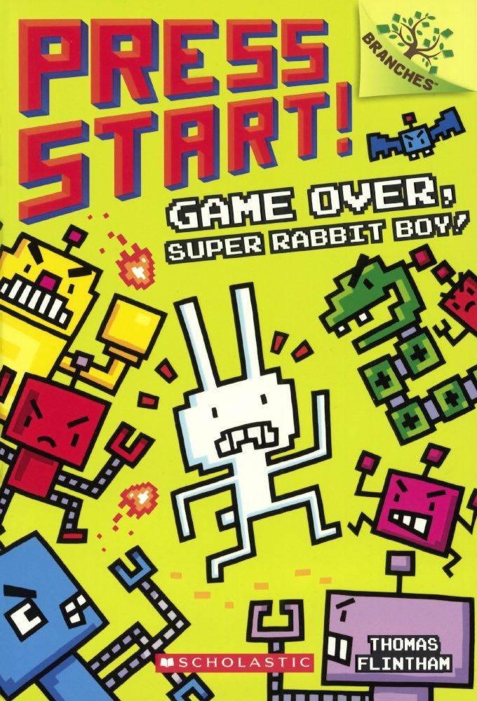 Download Game Over, Super Rabbit Boy! (Press Start!) (Turtleback School & Library Binding Edition) pdf epub