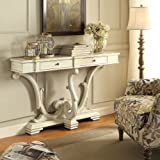 Coaster Home Furnishings 950586 Console Table, Antique White