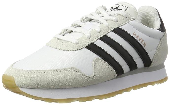 adidas Haven Schuhe Herren weiß m. schwarzen Streifen