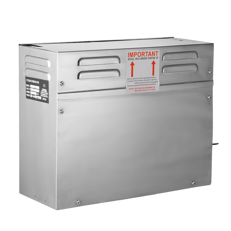 BuoQua 4KW Generatore Di Vapore Sauna Home Spa Doccia Generatore Di Vapore Per Bagno Turco Di Piccolo Volume Con Controller Digitale