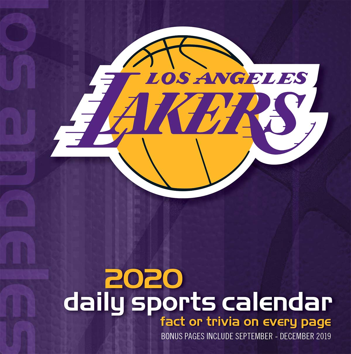 Lakers Schedule 2020.Amazon Com Los Angeles Lakers 2020 Calendar Office Products
