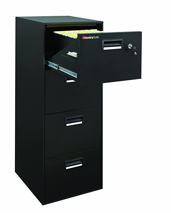 Amazon.com Sentry Safe 4B2100B Fire-Safe File 4.16 Cubic Feet Black Home Improvement  sc 1 st  Amazon.com & Amazon.com: Sentry Safe 4B2100B Fire-Safe File 4.16 Cubic Feet ...