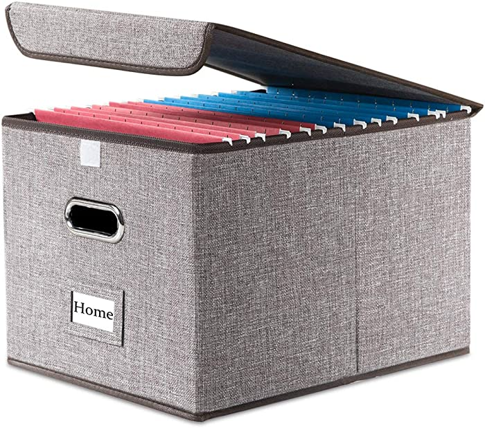 Top 10 Ideastream Collapsible Desktop File Box