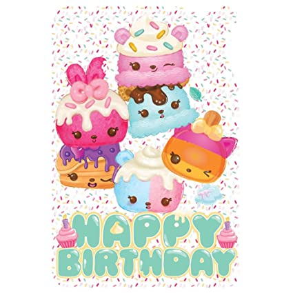 Amazon Num Noms Happy Birthday Card Office Products