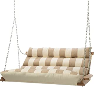 product image for Hatteras Hammocks Sunbrella Deluxe Cushion Swing - Regency Sand