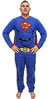 Bioworld DC Comics Superman Muscle Adult Costume Union Suit With Cape