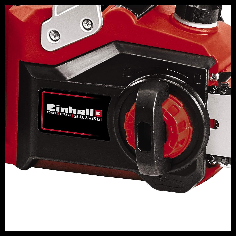 Einhell GE-LC 36/35 Li-Solo BL - Motosierra a batería Power X ...