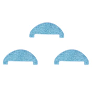 Zealing - Almohadillas de Repuesto para aspiradora ilife V8s V80 V8S X800