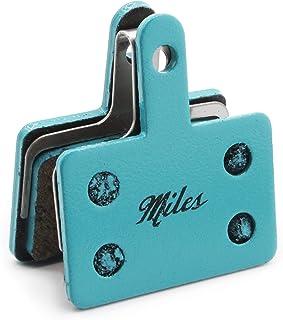 Miles Racing Plaquettes de Frein sémi-métallique pour Shimano Deore M525/575/486/485Hydraulic, Shimano Deore 515/416, Tektro Auriga/Auriga Comp/Auriga Pro