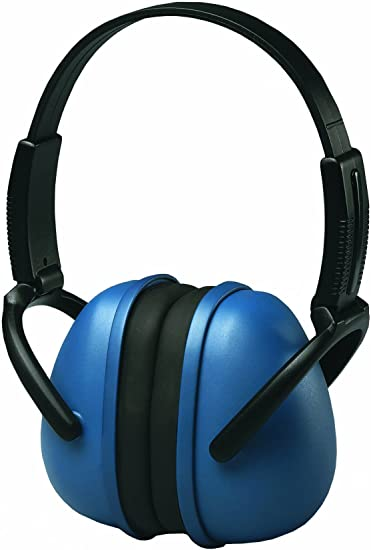 ANSI S3.19 ERB 14231 239 Folding Ear Muff Blue /& Black Lightweight NRR 23dB
