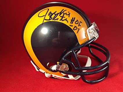 6dcbc0d19 Image Unavailable. Image not available for. Color  Jackie Slater Signed Los  Angeles Rams ...
