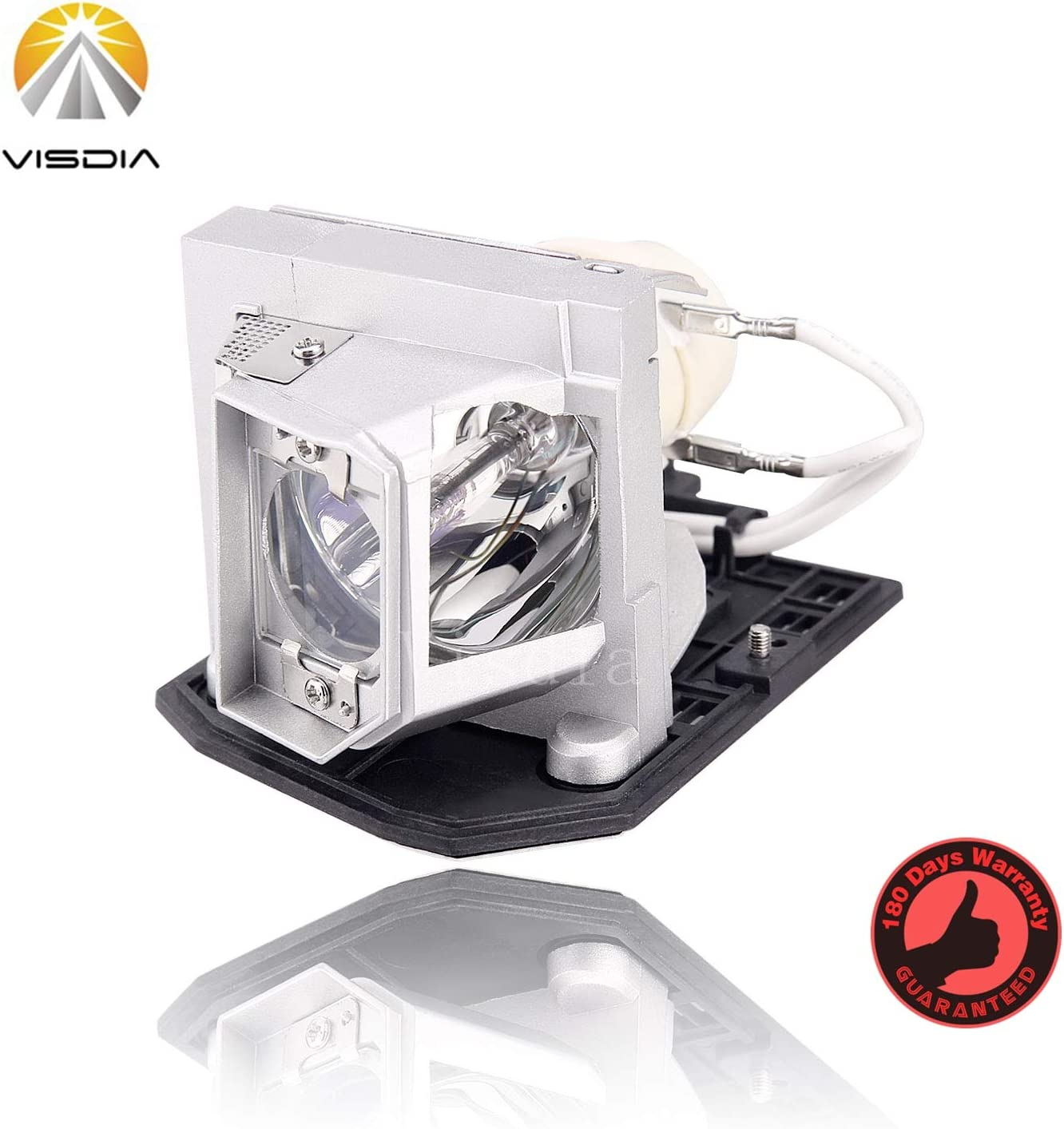 Visdia BL-FU240A Premium Replacement Projector Lamp with Housing for OPTOMA HD25-LV HD25 DH1011 EH300 HD131X HD2500 HD30 HD30B Projectors