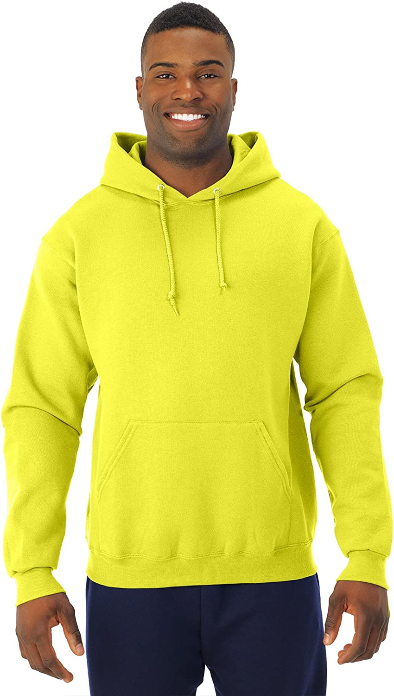 Neon Yellow Jerzees 8 oz XXX-Large NuBlend 50//50 Pullover Hood