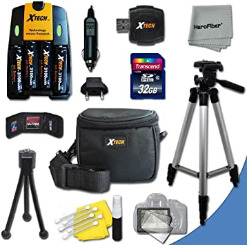 A630 A650 A540 A570 IS A640 A2000 IS A550 A1200 A530 A710 IS A1300 Ideal Accessory Kit for Canon Powershot A720 IS A1400 A1100 IS A800 A560 A1000 IS A700 A810 SX3 IS A610 A620 A510 Digital Cameras Includes 16GB Hig A2100 IS A520