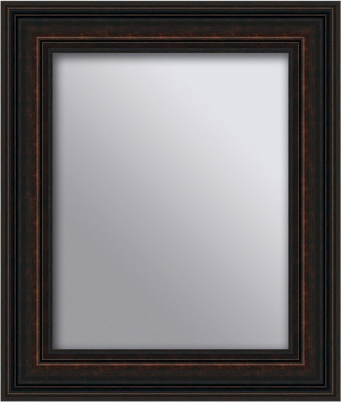 Yosemite Home Decor YMHF870816 Decorative Framed Mirror, Espresso