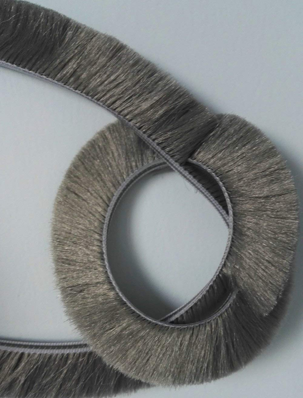 Sliding Winow Door Seal Brush Felt Draught Excluder Insert Wool Pile Weather Stripping Weather Stripping Weatherproofing 10 Meters 32.8 Feet Gray (11mm x 5mm x 10meters, silver gray) Shanghai Alina Trading Company Ltd.