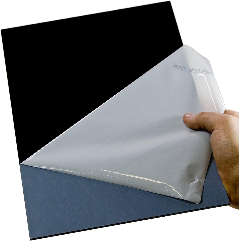 3mm XT Acryl-Zuschnitt//Plexiglas-Platte schwarz 20 x 15 cm