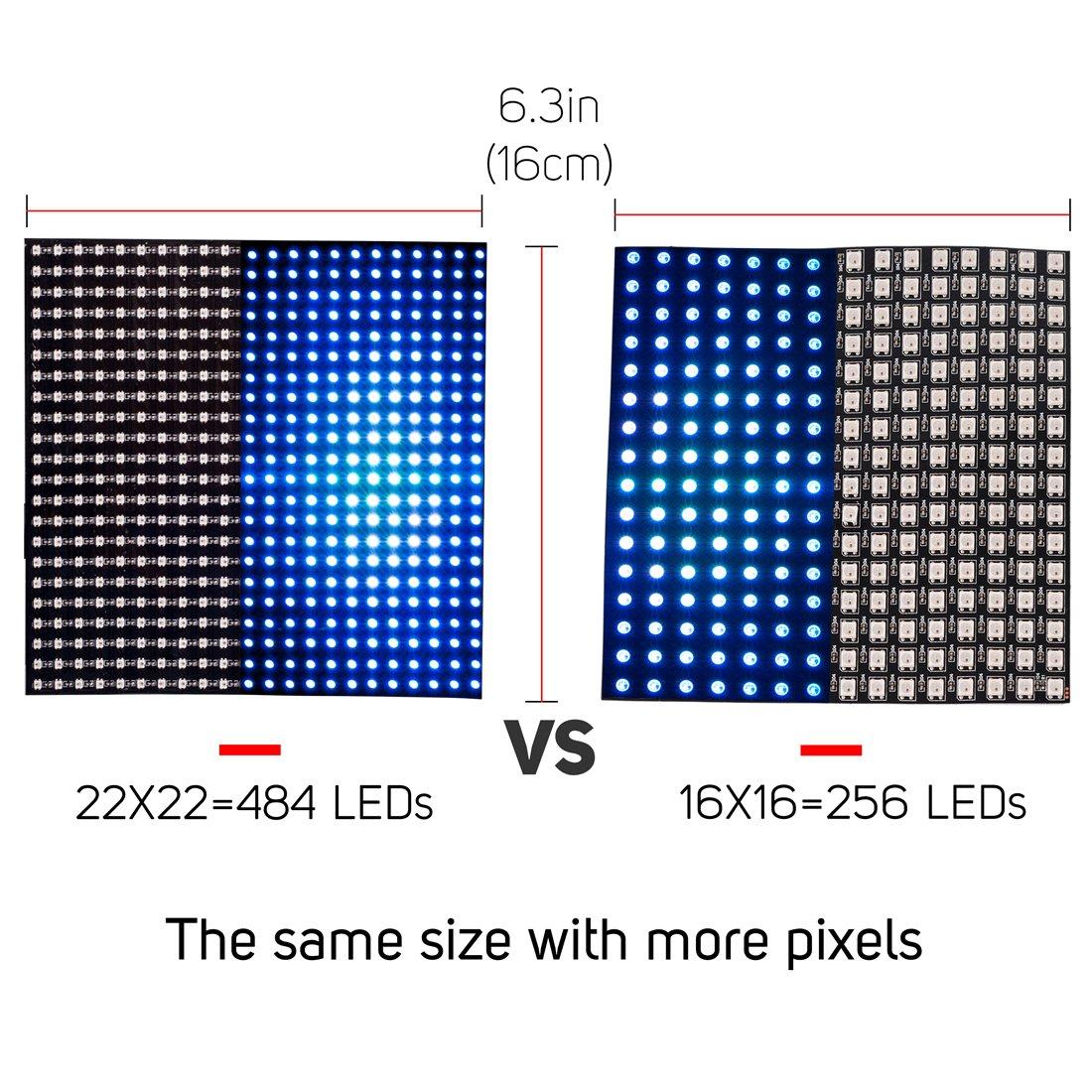 BTF-Lighting WS2812B Mini Led 2427 Digital Individually