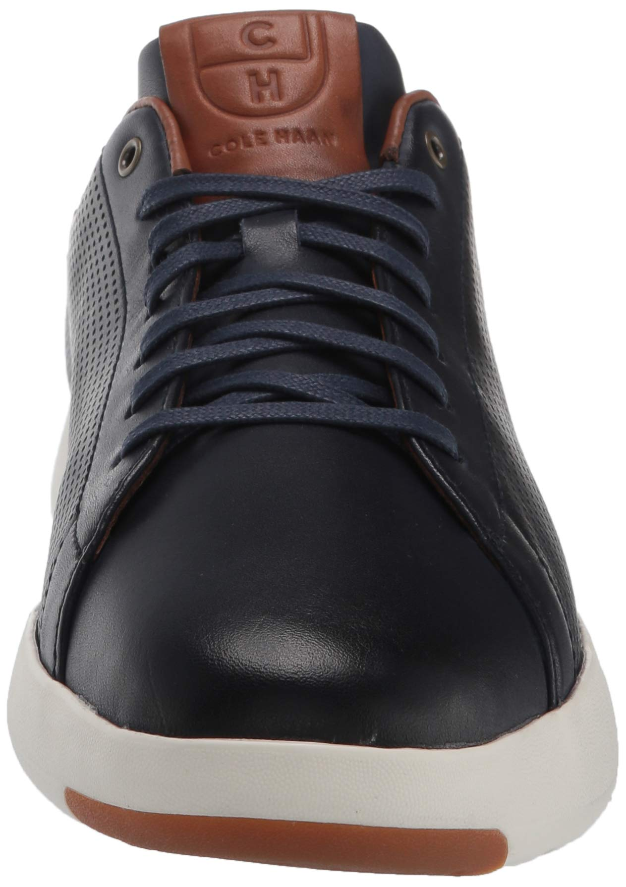 Cole Haan Mens Grandpro Tennis Sneaker 7 Navy Handstained Leather by Cole Haan (Image #4)