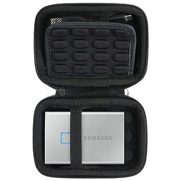 Khanka Duro Viaje Estuche Bolso Funda para Samsung T7 Touch ...