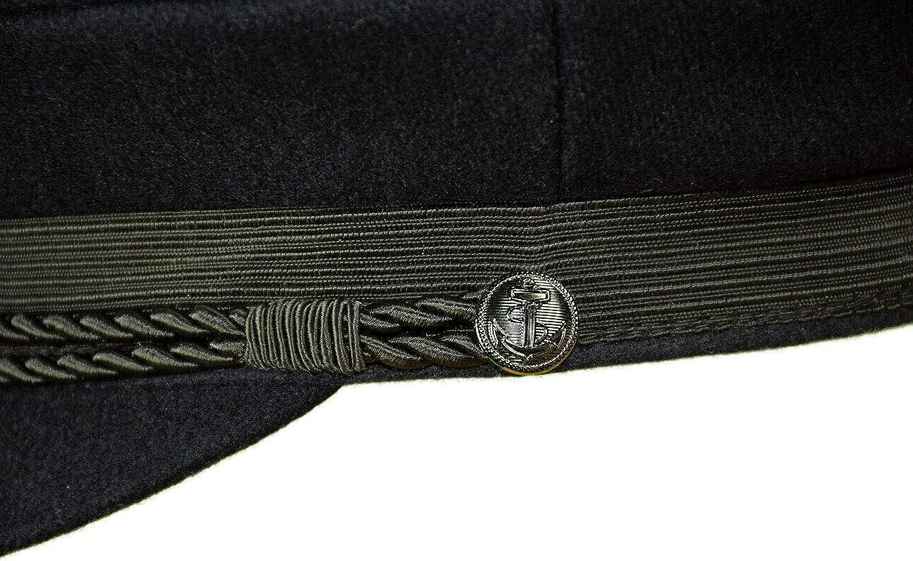 MADSea Elbsegler Premium Tuch mit Pin Hamburg Wappen Anker schwarz