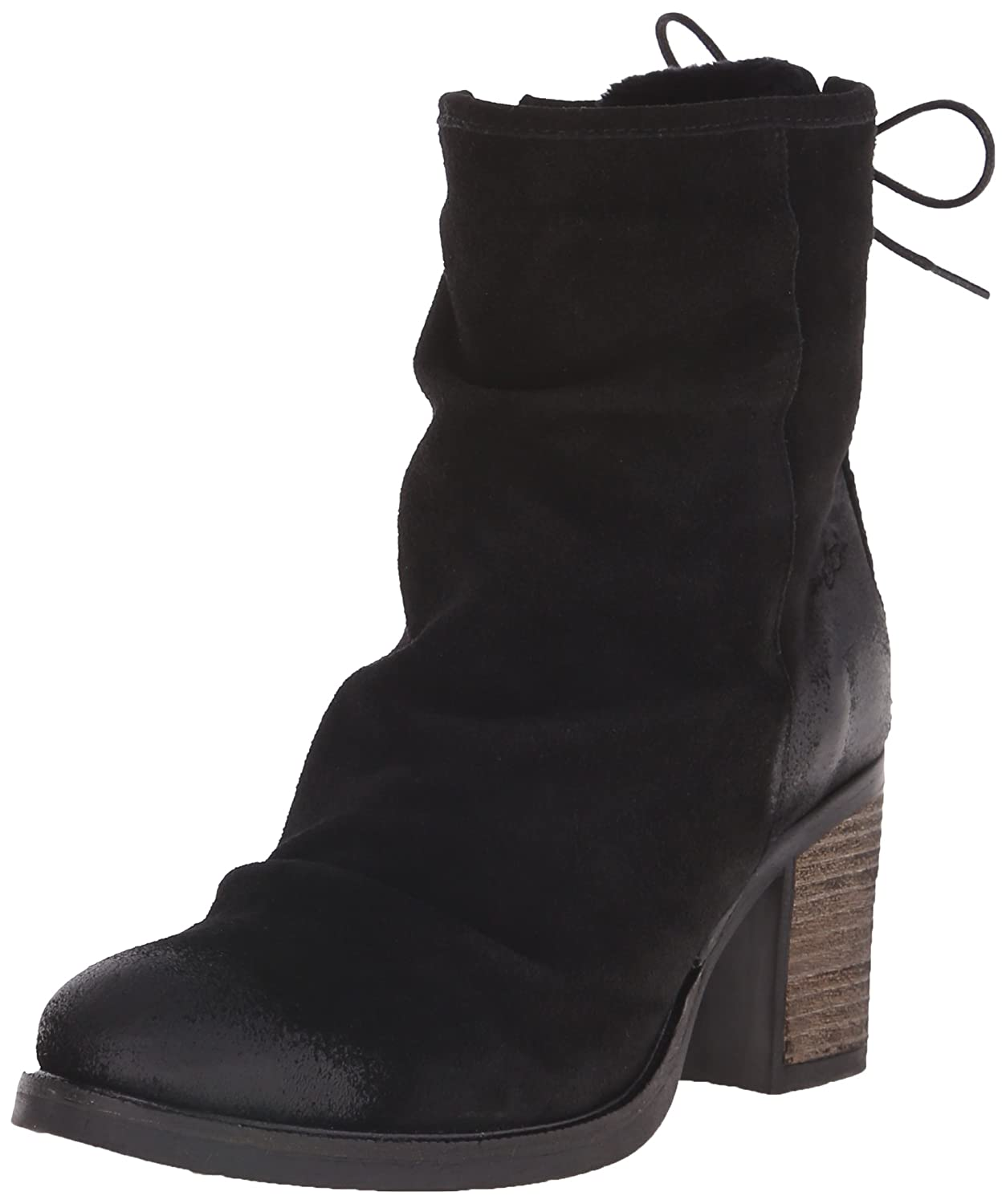 Bos. & Co. Women's Barlow Boot B00VMUOVFC 37 EU/6-6.5 M US|Black Oil Suede