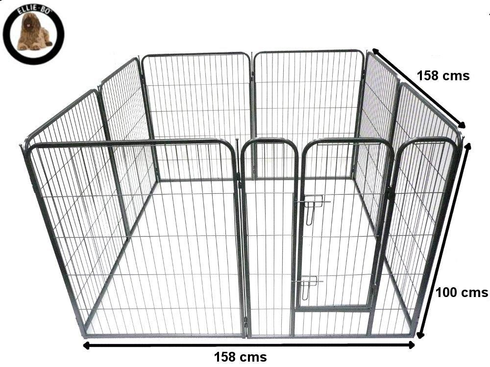 Ellie-Bo - Jardín de contención para perros, ejercicio, juegos, 8 ...