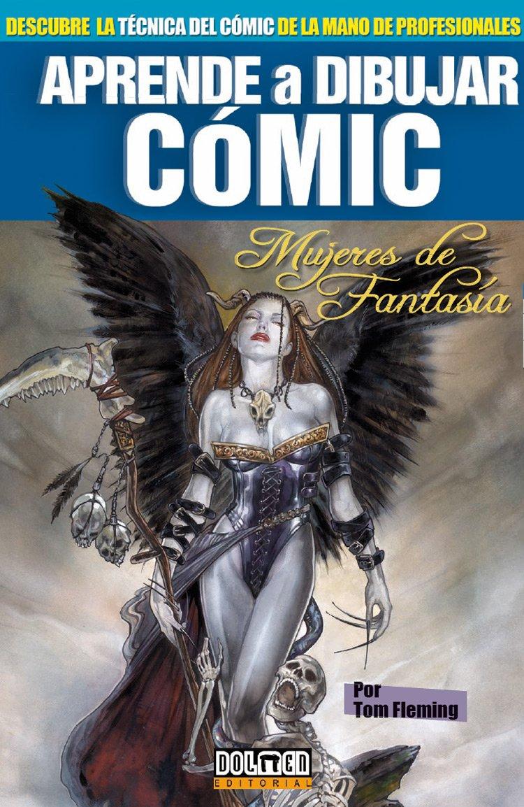 Aprende a dibujar cómic Vol. 10: Mujeres de fantasia: Amazon.es ...
