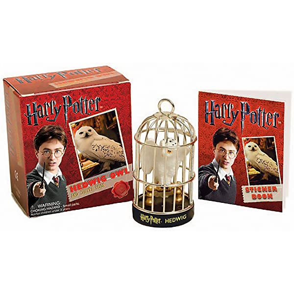 Pack Harry Potter: Hedwig Owl Kit And Sticker Running Press ...