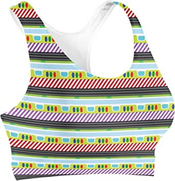 Rainbow Rules Buzz Lightyear Sports Bra - L