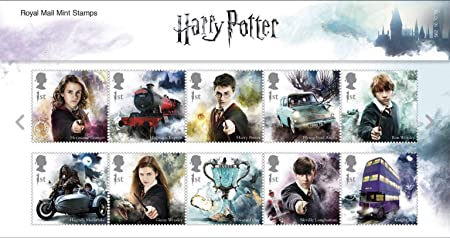 Royal Mail Pack de Presentación Sellos Harry Potter 2018: Amazon ...