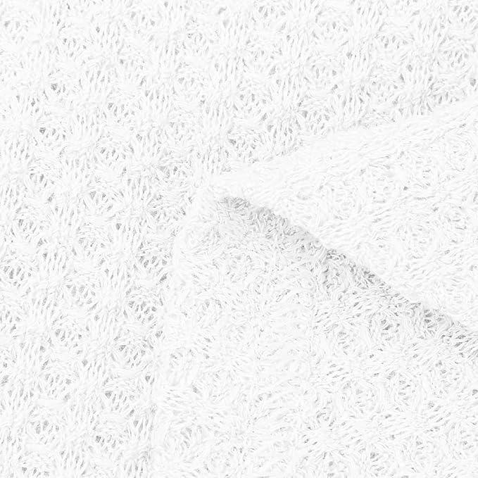 LANSKIRT Mujeres Blusa Suelto de túnica de Punto Tallas Grandes Escote en V Chaqueta de Punto Tie Henley Nudo Tops Alas de murciélago Llano Camisas: ...