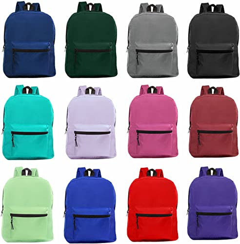 Wholesale 15 Inch Classic Backpack