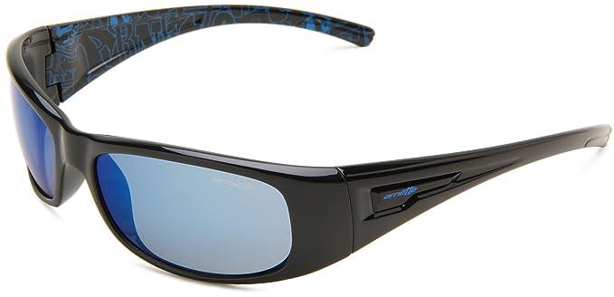 Gafas de Sol Arnette AN4139 HOLD UP BLACK / BLUE MIRROR ...