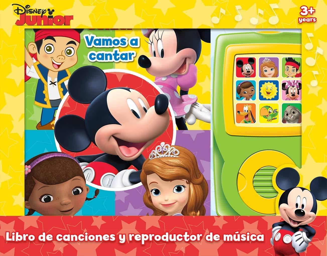 MI CAJA MUSICAL DISNEY JR LMOM: VAMOS A CANTAR: Amazon.es: Disney ...