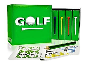 Legado juguetes familia juegos - Golf - incluye 4 Barajas de ...