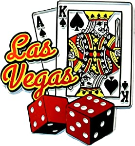 Las Vegas 7 and 21 Fridge Magnet