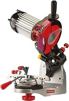 Oregon Amoladora profesional de 230 V para cadenas de motosierra, para todas las cadenas de motosierra, afilada Oregon, Stihl, Husqvarna y más (520-230)